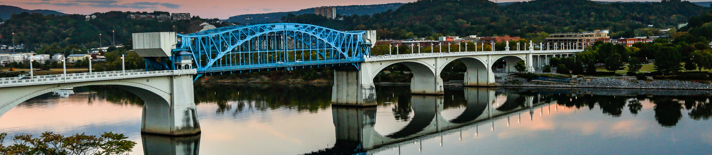 Bridge in Chattanooga Tennessee